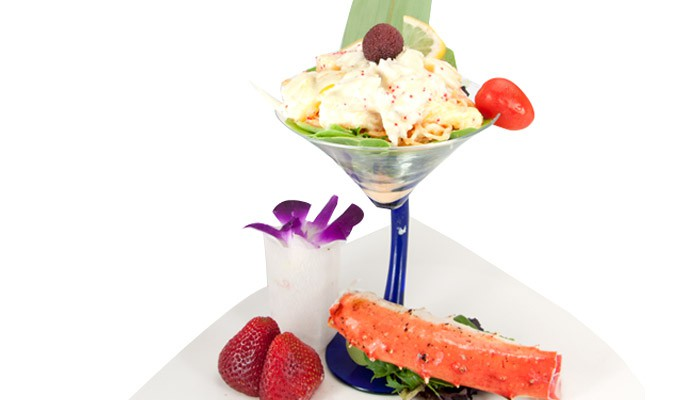 King Crab Mango Salad